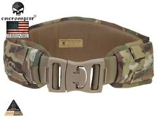 Combat Waist Belt EMERSON Padded Molle Airsoft Hunting CORDURA MultiCam 9086