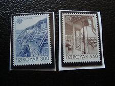 ILES FEROE - timbre yvert et tellier n° 143 144 n** (A22) stamp