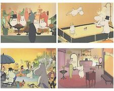 Moomin Set of 4 Posters 24 x 30 cm from Calendar Riviera Set 5 Putinki