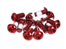 MOWA Bicycle Cycling Bike Disk Brake Rotor Bolts Screws/M5 10mm 12pcs Red