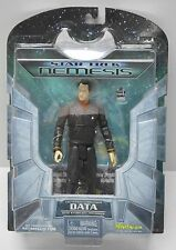 Star Trek TNG Nemesis DATA action figure 2002 Art Asylum NIP