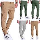G.B.D. Chinohose Jogger Chino Cargo Hose Jogginghose Jogg Beige/Khaki/Grau Jeans