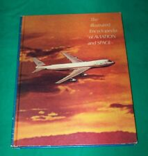 1971 ILLUSTRATED ENCYCLOPEDIA AVIATION SPACE PICTURE BOOK AMERICAN FAMILY PRESS