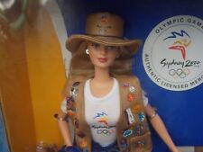 Sydney 2000 Olympic Pin Collector Barbie Doll