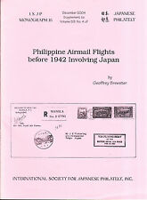 Brewster, Geoffrey - Philippine Airmail Flights before 1942 involving Japan