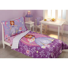 Disney Sofia the First Princess in Training 4-Piece Toddler Bedding Set