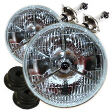 "Classic Austin Mini Domed P700 7"" Halogen Headlight Head Lamp Tripod Conversion"