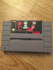 The Hunt For Red October Super Nintendo Snes Game BB1