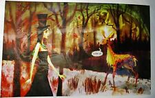 "NEW Alice Madness Returns ""Wake Up Alice"" Signed Auto Lithograph Print ?/500"