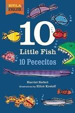 ¡Hola, English!: 10 Little Fish by Harriet Ziefert (2015, Hardcover)