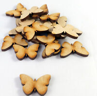25x Wooden MDF Butterfly shapes, craft blank, cutouts, Plaque and card making,