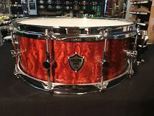 Precision Drum Company 14x5 Bubinga Snare Drum with Trick Throw Off