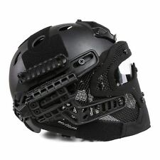 Protective Googles G4 System Full Face Mask Helmet Airsoft Paintball Black