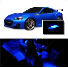 For Subaru BRZ 2013-2016 Blue LED Interior Kit + Blue License Light LED