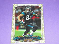 2014 Topps CECIL SHORTS #281 Camoflage Variant/399 Jaguars - Texans MOUNT UNION