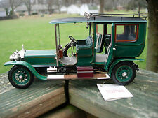 Franklin Mint 1/24th Scale 1907 Rolls- Royce Silver Ghost-WITH BOX-
