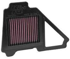 K&N AIR FILTER FOR YAMAHA YBR125 CUSTOM 124 2008-2015 YA-1213