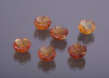 CITRIN fiori 8mm inciso Peso: quanto circa 1,27 CT. (34)