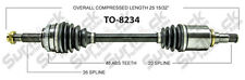 SurTrack TO8234 Left New CV Complete Assembly