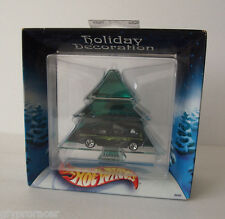HOT WHEELS HOLIDAY DECORATION TREE W/ CAR SHOEBOX