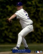 KERRY WOOD 8x10 ACTION PHOTO (20 K Record Game @Wrigley Field) CHICAGO CUBS 1998