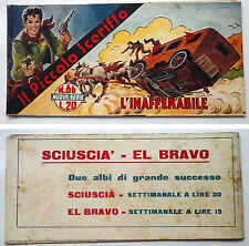 Striscia IL PICCOLO SCERIFFO IIª Serie N 86 TORELLI 1953