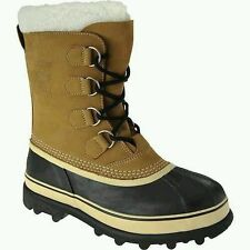 NIB - Sorel Men's Caribou Buff Boots Waterproof -40 Degrees  Size 8