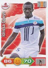 IDRISSA GUEYE # SENEGAL LILLE.OSC LOSC CARD PANINI ADRENALYN 2012
