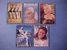 VERY NICE SPORTS TIME CARD CO 5 Marilyn Monroe 1993 Trading Cards  #36 - 40 M368