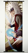 Home Decor Anime Wall Scroll Poster for Naruto Jiraiya 17.7 X 49.2 inches