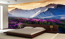 Mountain Landscape Wall Mural Photo Wallpaper GIANT WALL DECOR PAPER POSTER