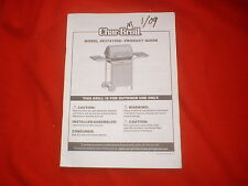Char-Broil BBQ Grill Model 463741008 Product Guide Owner's Manual Grilling Tips