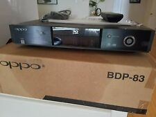 Oppo BDP-83 Blu-ray, DVD, DVD-Audio, SACD Player - Unreal Picture