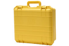 8 yellow CB O20 POLY prize gift GUN CAMERA CASE w FOAM (Close out) water re