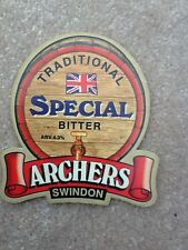 BEER PUMP CLIP - ARCHERS SWINDON TRADITIONAL SPECIAL BITTER