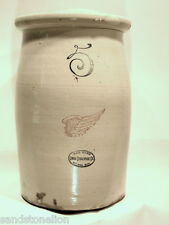 Rare Red Wing Stoneware 5 Gallon Butter Churn Crock Redware..GREAT DISPLAY