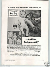 1948 PAPER AD American Character Doll Co Potty Baby New Idea Well Trained Dolls
