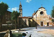 Alte Postkarte - Florenz - Platz vom heiligen Geist