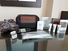 Lufthansa First Class Braun Büffel LA PRAERIE Amenity Kit Bag Limited Edition