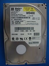 Western Digital WD400BB-75CLB0 IDE 40GB Hard Drive DCM: HSBHET2CH 07J322 Tested