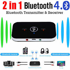 2in1 Wireless Bluetooth4.0 Transmitter Receiver A2DP Stereo Audio Music Adapter