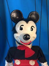 "Vintage 1950's Disney Mickey Mouse 12"" Marionette Puppet Composition"