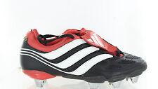 Adidas Mens Precision Predator XTRX SG Soccer Cleat Black White Red Size 7 US