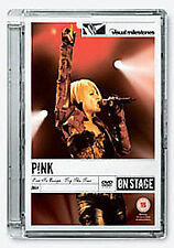 Pink - Live In Europe - Try This Tour (DVD, 2008) PLASTIC SLIMLINE CASE