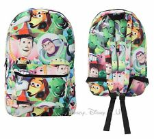 New Disney Toy Story Characters Collage Backpack School Book Bag Sack Tote