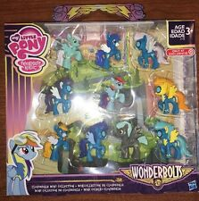 My Little Pony WONDERBOLTS CLOUDSDALE MINI COLLECTION 10 PC, NEW! ONLY AT TARGET