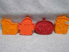 FOUR HALLOWEEN ASSORTED  COOKIE CUTTERS                                SET 5