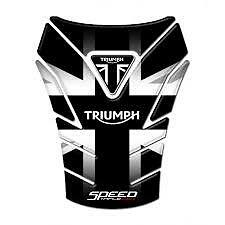 Motorcycle Tank Pad Protector Sticker | (TRIUMPH) Speed Triple 1050