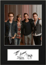 McFLY #2 Signed Print A5 Mounted Photo Print - FREE DELIVERY