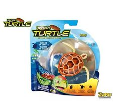 Zuru Robo Turtle Lifelike Robotic Pet Swims Walks Like Real Turtle Brown New Kid